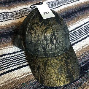 BP Black & Gold Baseball Hat